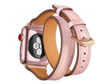 Tech-Protect LONGCHARM APPLE WATCH 1/2/3/4/5 38/40MM PINK/GOLD