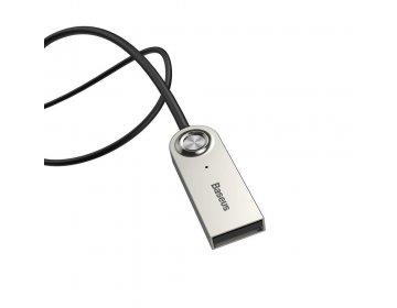 Baseus BA01 AUX CABLE AUDIO ADAPTER srebrny