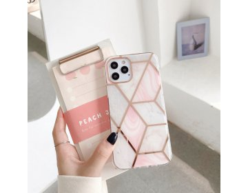 "Tech-Protect MARBLE ""2"" iPhone 12 mini różowy"