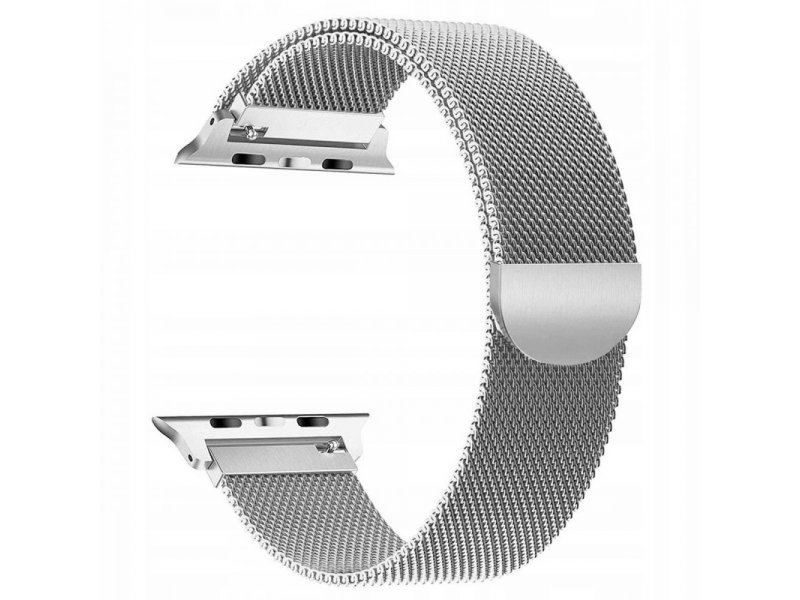 Tech-Protect MILANESEBAND APPLE WATCH 1/2/3/4/5 42/44MM srebrny
