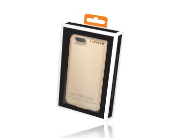 Battery Case Forever iPhone 6/6S 3000 mAh + microSD złota