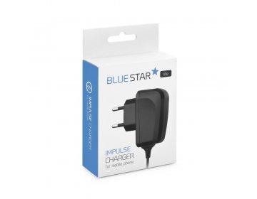 Ładowarka sieciowa micro USB typ C Uniwersalna z odpinanym kablem 2A niebieski Star Lite