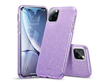 Futerał ESR Makeup Glitter do iPhone 11 6.1 fioletowy