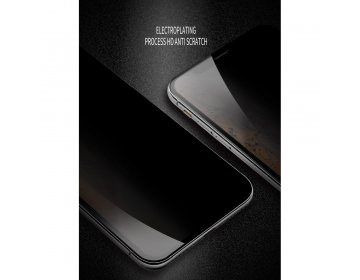 Szkło hartowane X-ONE Full Cover Extra Strong Privacy iPhone 11 full glue czarny