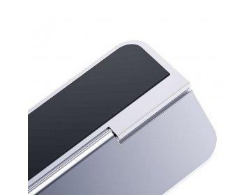 Baseus podkładka/podstawka pod laptop Papery srebrna SUZC-0S