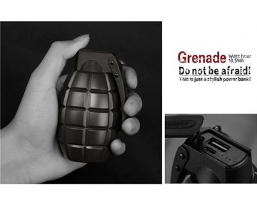Remax power bank Grenade 5000mAh RPL-28 oliwkowy