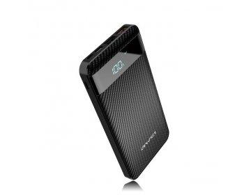 Awei power bank > P63K 2xUSB szybkie ładowanie 10000mAh czarny