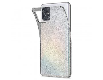 Etui SPIGEN Liquid bezbarwny ACS00932 SAMSUNG A515 SAMSUNG A51 Glitter bezbarwny Quartz