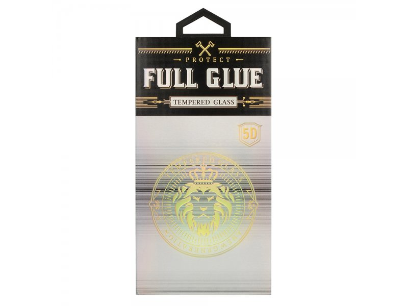 Hartowane szkło HARD Full Glue 5D XIAOMI Redmi NOTE 8 PRO CZARNE