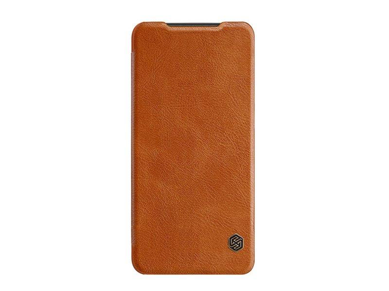 Etui Nillkin Qin iPhone 12 mini brązowy
