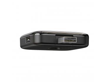 Baseus Adapter HUB USB na 4xUSB 2.0 CAHUB-CW01 czarny