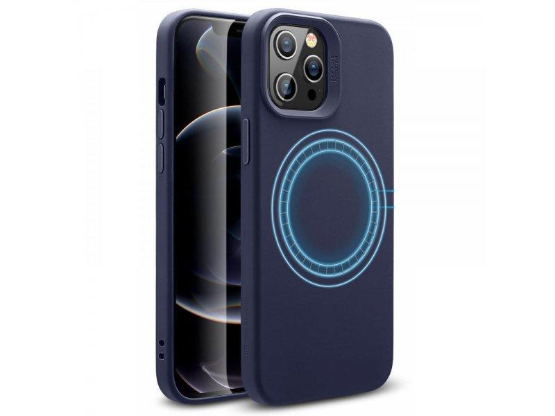 Etui ESR Cloud Halolock iPhone 12 Pro Max Midnight niebieski